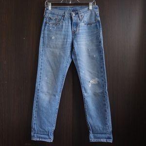Levi's 501 taper size 25